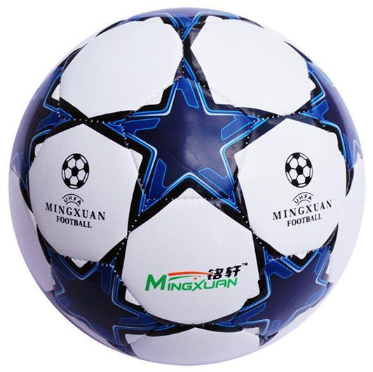 Hot sale European champion league Soccer ball HIgh quality football PU size 4 blue soccer ball Free shipping(China (Mainland))