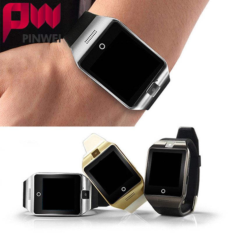 PINWEI Bluetooth Smart Watch Smartwatch Sport Watch WristWatch Support NFC SIM Card Camera For Samsung Android Phone PK GT08 T55(China (Mainland))