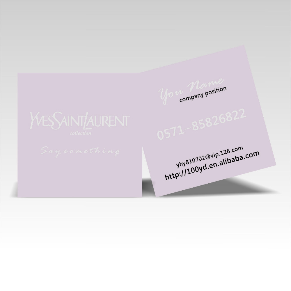 2015 Flash Sale Discount Price Free Design Square Pink Customized Business Cards Die Cutting,Nice Unique Art paper Name Card<br><br>Aliexpress