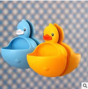 Novelty Duck Multi Function Soap Holder Key Holder Home Office Storage Holders trinket Organization(China (Mainland))