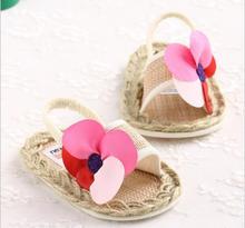 2015 summer sapato infantil toddler shoes soft soled baby sandalias shoes foreign trade straw sandals calcados de  sapatos(China (Mainland))