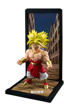 Counter genuine Bandai Soul Buddies Dragon Ball Z Super Saiyan Brolly Q edition model