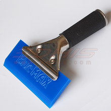 A34 bluemax  rubber squeegee vinyl wrap tool color chang film install squeegee tool(China (Mainland))