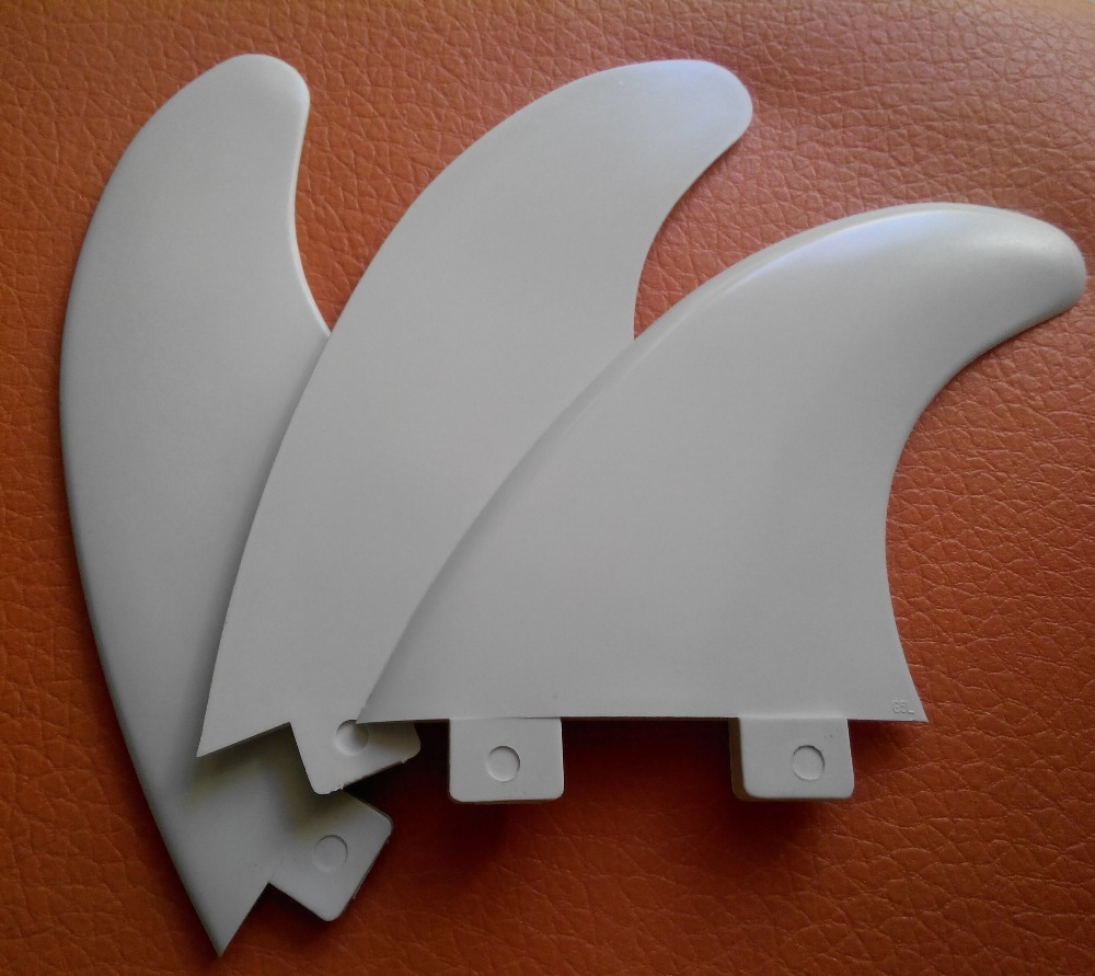 White FCS words plastic FCS surfboard fins/white G5 fcs fins/surf fins(China (Mainland))