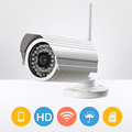 Outdoor Onvif WIFI SD card IP Camera HD 720P IR night vision Wireless alarm Surveillance Security