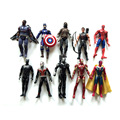 Baby toy Marvel Avengers Captain America 3 SpiderMan Iron Man Hulk kid toy 10 movable Decoration