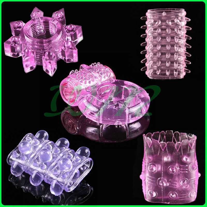 Free shipping 5 different Penis Rings,Vibrating Rings,Cock Rings,Sex ring,Sex Toy,Sex products,Adult toy H-001