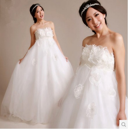 Maternity wedding dress plus size wedding dress wedding for Plus size maternity wedding dresses