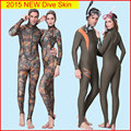 2016 Spring NEW Dive Skin Adult Rash Guards One piece Jump Stinger Suitt Men and Women