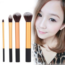 High Quality Beauty Professional Make Up Brusher 4pcs Techniques Makeup Eyeshadow Powder BrushCore Collection pinceis maquiagem