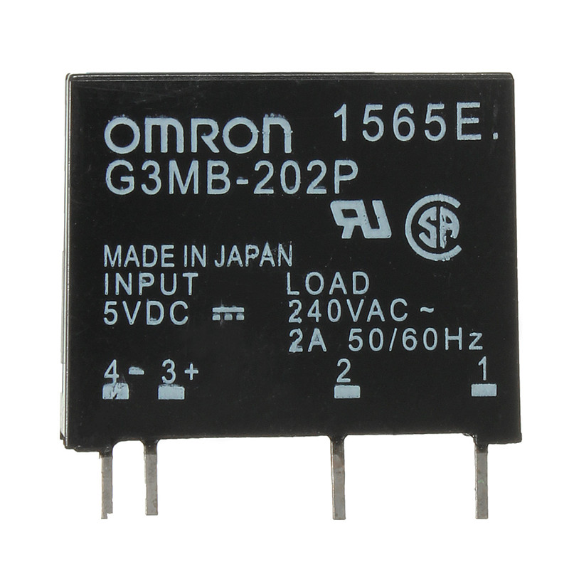 Brand New High Standard G3MB 202P DC AC PCB SSR In 5VDC Out 240V AC 2A
