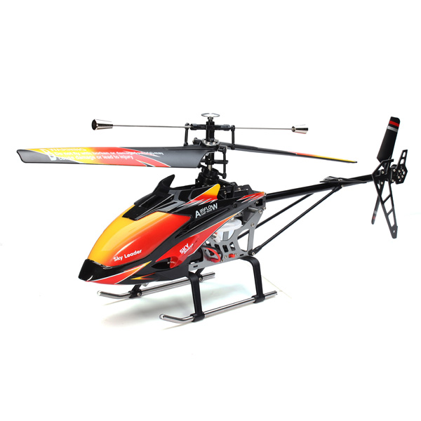 Free shiping Original WLtoys V913 RC Helicopter 4Ch Flybarless Remote Control RTF 70cm 2.4GHz Built-in Gyro RC large plane Toy(China (Mainland))