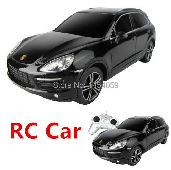 Battery Power RC Car Toy, Remote Control cars Children/kids/youth RC Vehicle, 1:24 Scale Cayenne White/Black RC Fashion Car(China (Mainland))