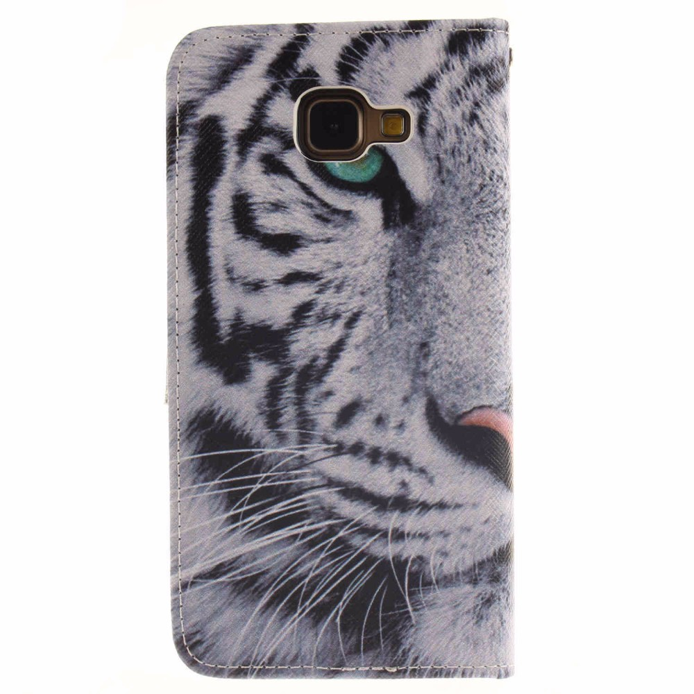 For Samsung A3(2016) Case Fashion Painted Protective Flip Stand Wallet PU Leather Cover For Samsung Galaxy A3 (2016) A3100 4.7″