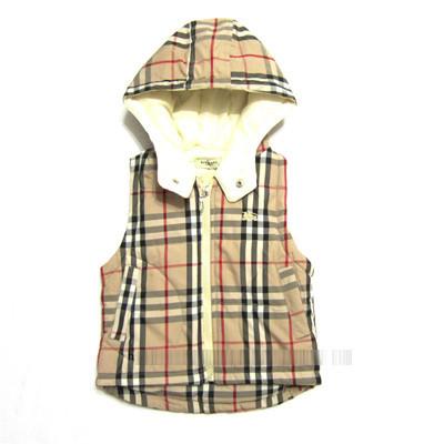 2-7 лет моды мальчик жилет сетки с капюшоном жилеты жилеты осень-зима мальчик стеганые Бабий хлопка жилет детей холодной доказательство жилет