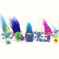 6pcs Set Trolls Action Toys Poppy Branch Biggie Figures Collection Dolls Trolls Children Trolls Action Figure