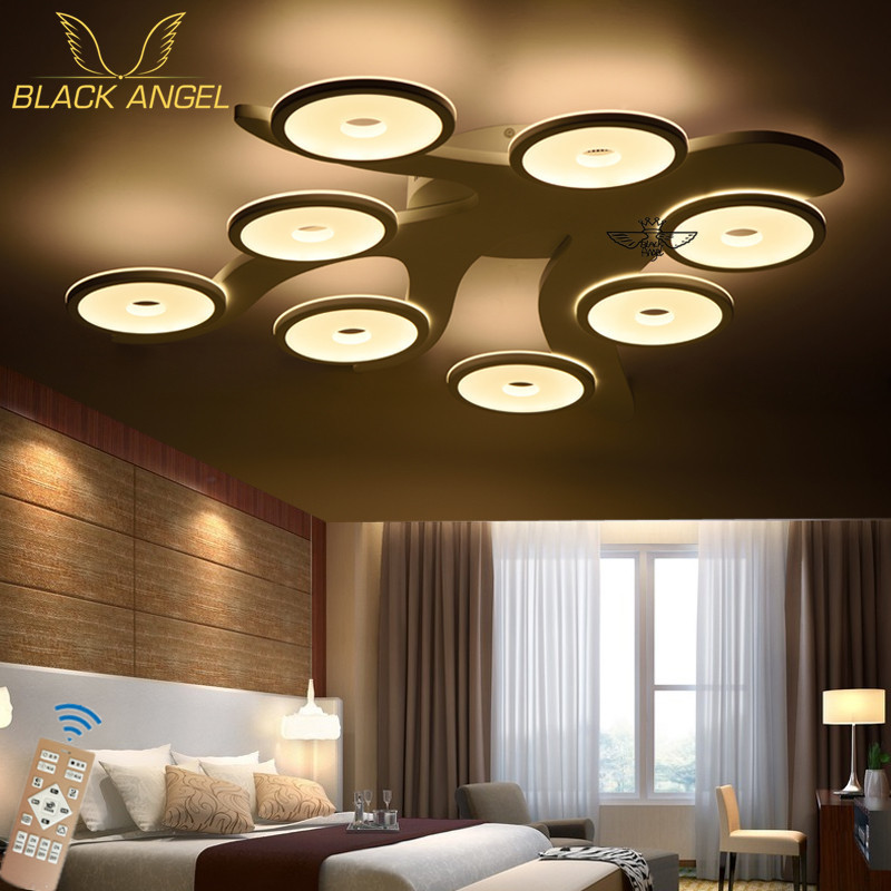 2016 Modern Led Ceiling Light Living Room Lights Acrylic Decorative Lampshade Ceiling Lamp