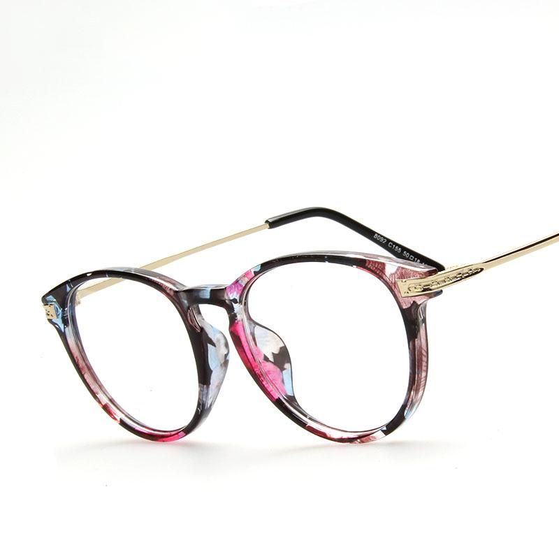 New Style Unisex Hipster Vintage Retro Classic Half Frame Glasses Clear Lens Nerd Eyewear oculos de grau Computer glasses(China (Mainland))