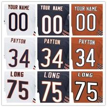 Men's Elite Jersey 100% Stitched #6 Jay #17 Alshon #23 Kyle #34 Walter #75 Kyle Elite Navy Blue Orange White Football Jerseys(China (Mainland))