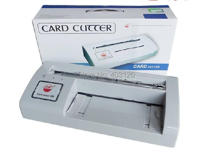 A4 size automatic business card cutter namecard cutting