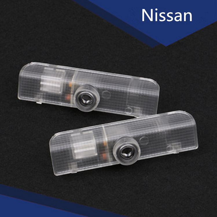 2 Laser LED Door Courtesy projector Shadow Light For Nissan Titan Altima Coupe Altima Sedan Armada Maxima Quest(China (Mainland))