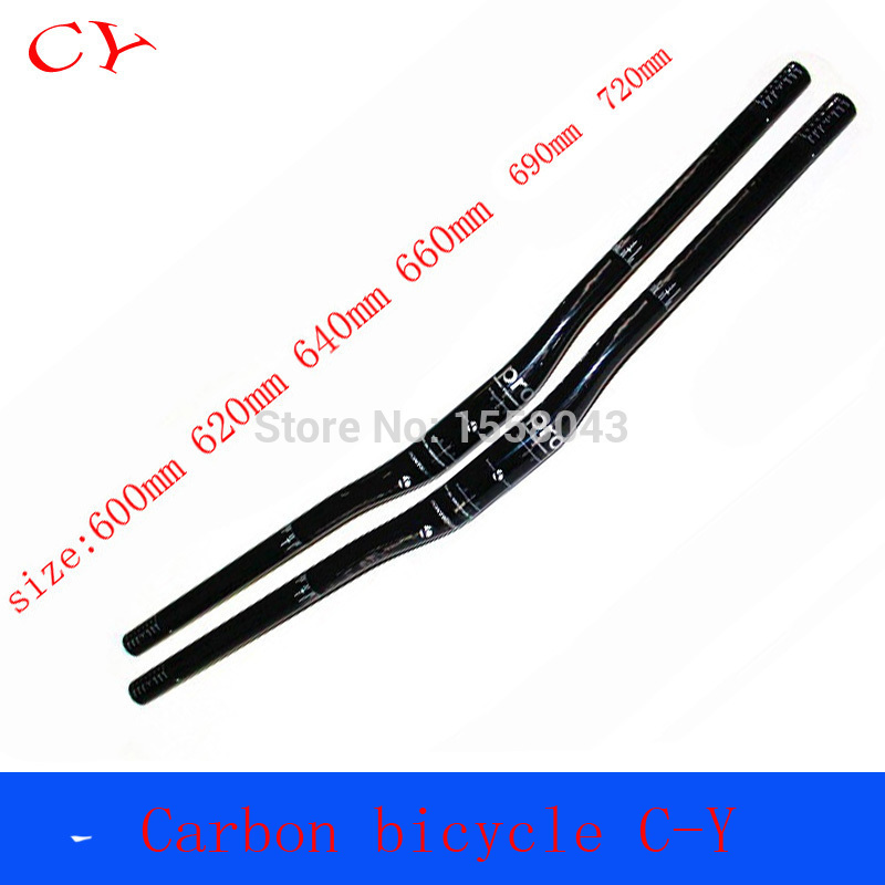 new mountain bike handlebar carbon fiber handlebar bicycle handlebar bicycle accessories handlebar sizes 600-720mm(China (Mainland))