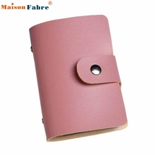 High quality Men Women Leather Credit Card Holder Case Card Holder Wallet Business Card(China (Mainland))