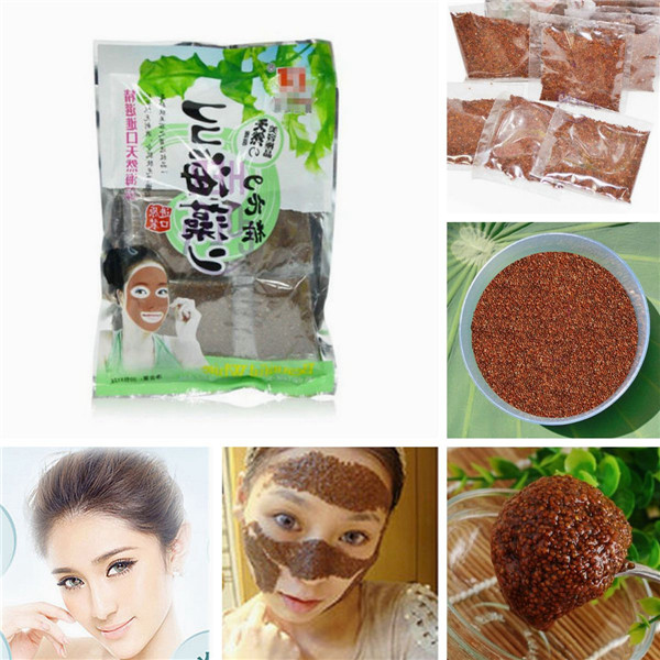 20pcs/bag 100% Pure Natural Seaweed Mask Granule Collagen Whitening lifting Beauty Face Care Beauty Masks White(China (Mainland))