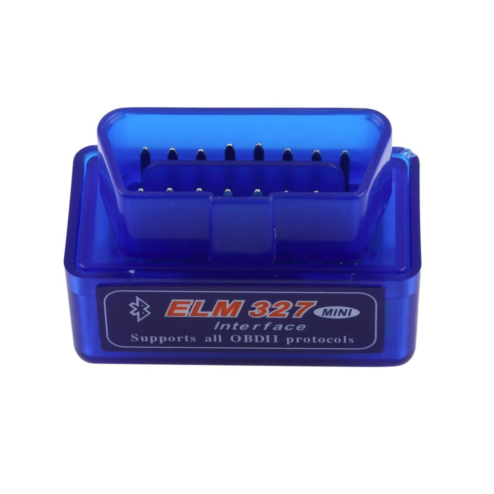 1pc Universal OBD V2.1 ELM327 OBD2 Bluetooth Auto Scanner OBDII 2 Car ELM 327 Tester Diagnostic Tool for Android Windows Symbian(China (Mainland))
