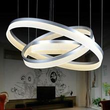Free shipping 2014 new Hot selling Modern simple Design Mini Pendant LED Ring suspension lamp for living room dinning room(China (Mainland))