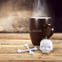 Cool T-Bones Tea Bones Skull Tea Infuser Tea Strainer for Home Decor