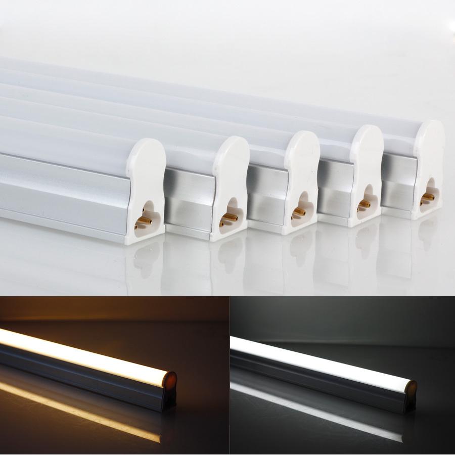 5 pcs lot T5 6w 30cm SMD3014 White Warm White LEDs Fluorescent Sun Light Lamp Bulb Tube free 5 pcs rgb bulb light 3w no remote(China (Mainland))