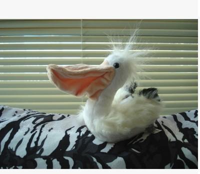 "Pelican bird plush doll simulation doll 15cm (5.91 "") soft plush toy doll fun birthday gift given to children LH108"
