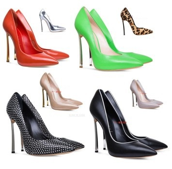 Hot 2014 New Famous Luxury High-heeled shoes 2 Colors