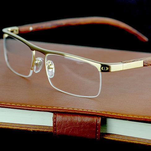 Марка мужчины женщины моды рецепт очковые оптические очки очки рамка 4581369 деревянная ...