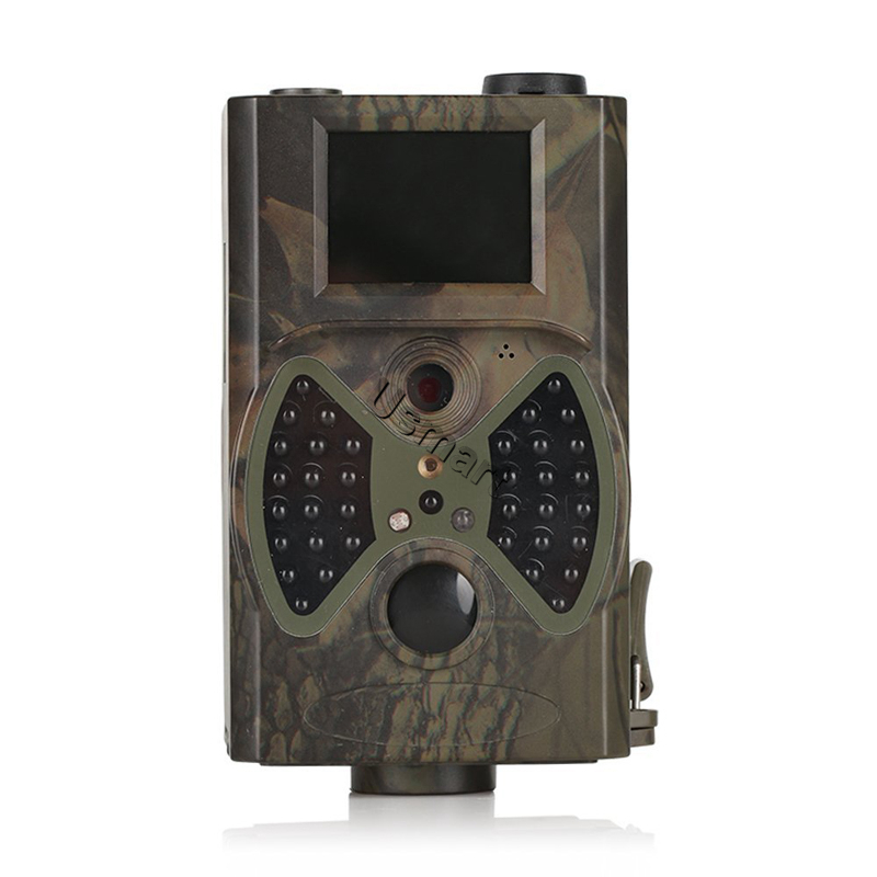 HC 300 Trail Hunting Camera Photo Trap Camouflage 12MP 1080P HD Hunting Infrared Scouting Cameras With Wireless Remote Control(China (Mainland))