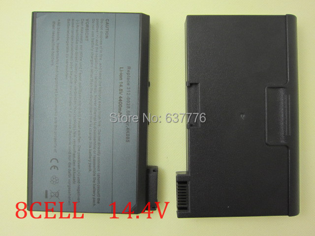8cells new laptop battery for Dell Latitude C600,C610,C640,CPI CPX CPXH,CPXJ,CPXJ650GT ,312-0026, 312-0522,312-3280,312-0115(China (Mainland))