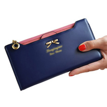 High Quality Mimco Lady Women Wallets Bags Bowknot Leather Wallet Women Coin Purse Card Holders Handbags Birthday Gift Carteira