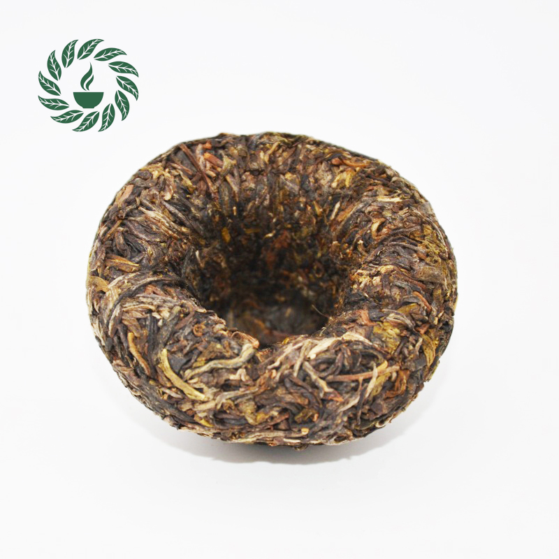 100g Premium 2010yr Shen pu-erh tea Raw puer cake,Shengcha with nice shape and good taste,raw puer #
