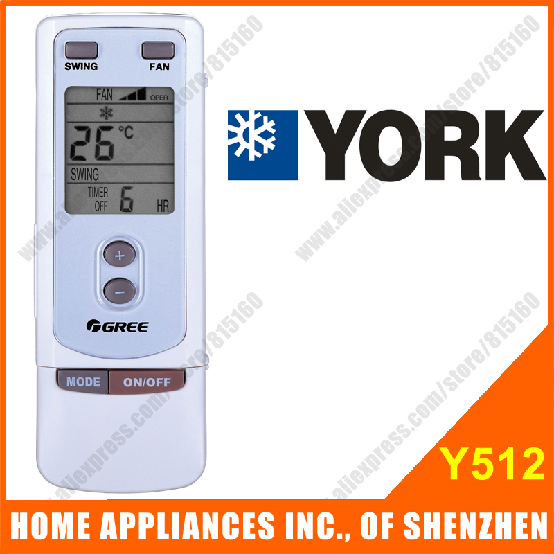 Гаджет  YORK Split & Portable Air Conditioner Remote Control Replacement Y512 Compatible with GREE Air Conditioner Remote Control None Бытовая техника
