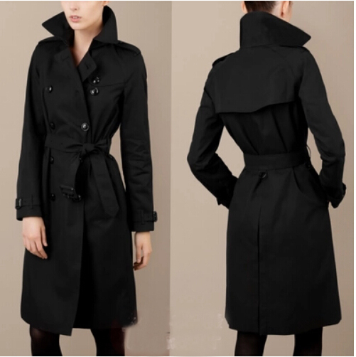 Long trench coat women's – Novelties of modern fashion photo blog