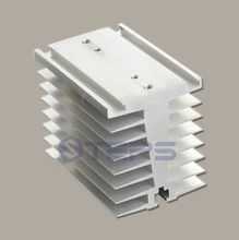 Buy SSR solid state relay radiator SCR module Non-contact relay aluminum heat sink thermal seat 100*70*80 for $20.00 in AliExpress store