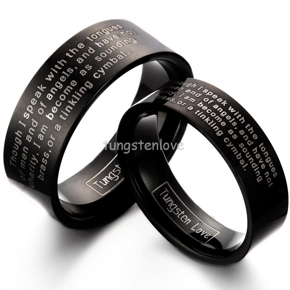 tungsten wedding ring engraving