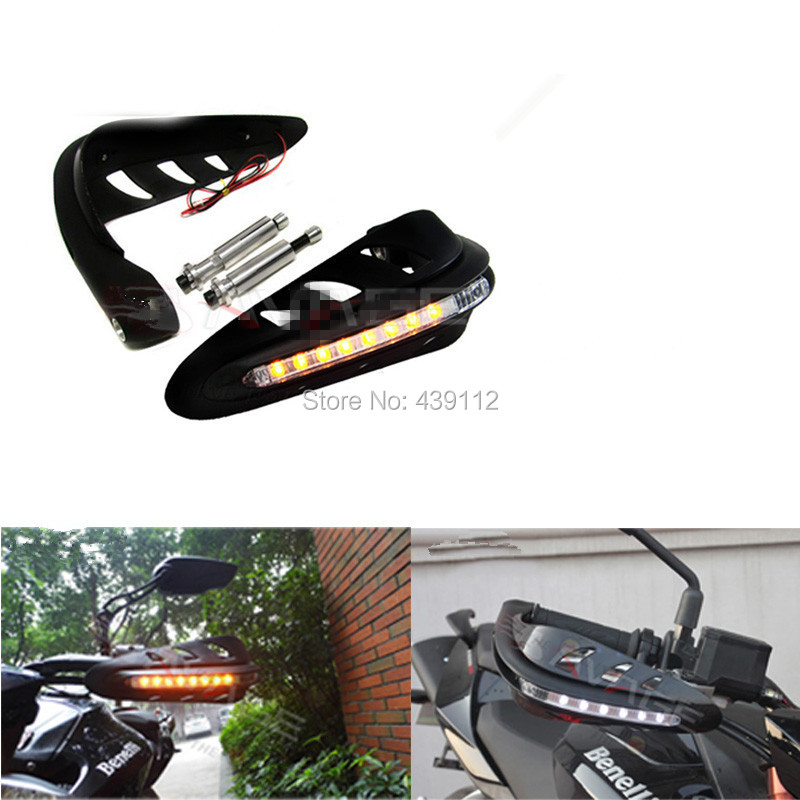Motorcycle refit LED light armfuls bow Hand protector Qianjiang benelli BJ600GS - sunny sky store
