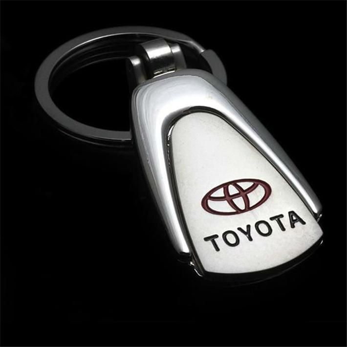 Металл вод-падения автомобиль логотип брелок брелок для TOYOTA авто сеть брелок YOWO