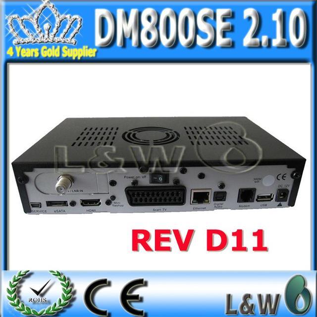 3 pieces/lot Sunray 800 se hd oem dm800hd se tv receiver DM hd receiver Sunray 800hd se with OEM packing Rev D6 version