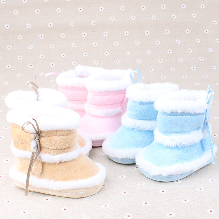 2015 fashion winter wram boots for 0 1 years old baby