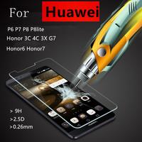 Защитная пленка для мобильных телефонов Huawei P6 P7 P8 lite 7 6 3C 4C 3 x G7 + For Huawei P6 P7 P8 lite   Honor 6 7 3C 4C 3X Ascend G7