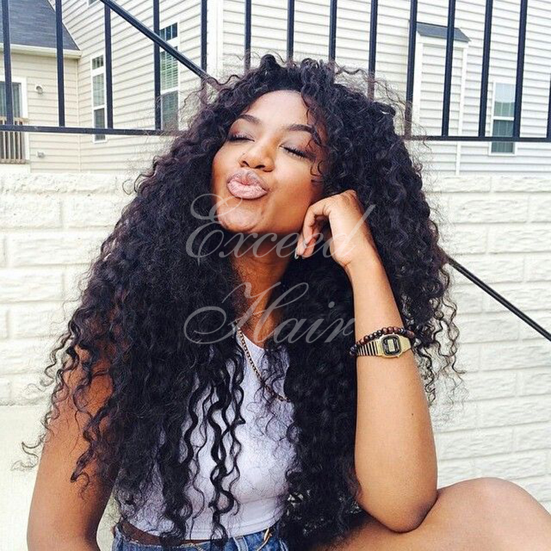 150 density brazilian human hair lace front wigs glueless full lace wigs deep curly best human hair wigs for black women<br><br>Aliexpress