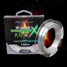 100m 0.2/0.25/0.28mm Transparent Carbon Line Trulinoya Fluorocarbon Fishing Line Peche Fish Lines Wire Line Linha De Pesca(China (Mainland))